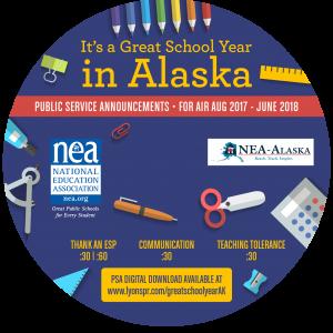 Back to School CD Label 2017 - Alaska circle