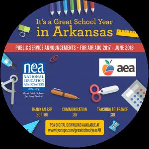 Back to School CD Label 2017 - Arkansas circle