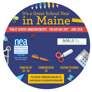 Back to School CD Label 2017 - Maine circle