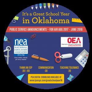 Back to School CD Label 2017 - Oklahoma circle