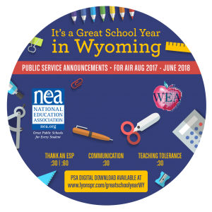 Back to School CD Label 2017 - Wyoming circle